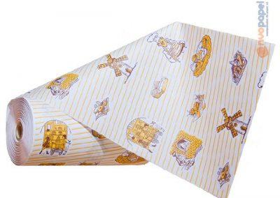 Bobinas de papel anónimas