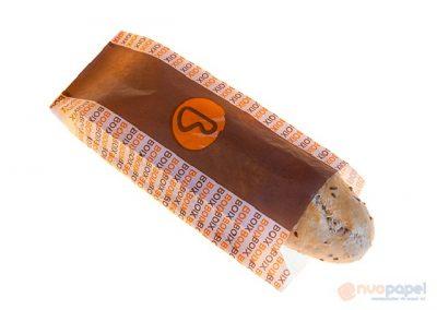 Bolsas de papel marrón impresas