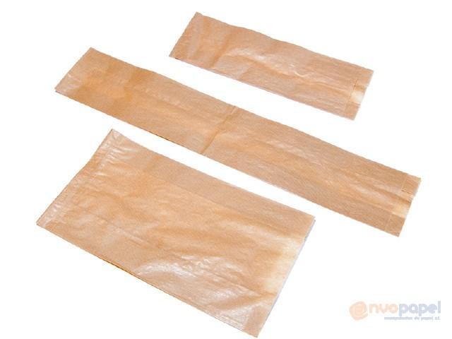 Bolsa papel kraft con ventana sin impresión