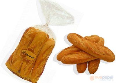 Bolsas de pan en polipropileno